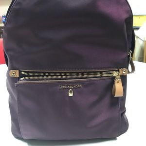 Michael Kors Damson Large Backpack Purple